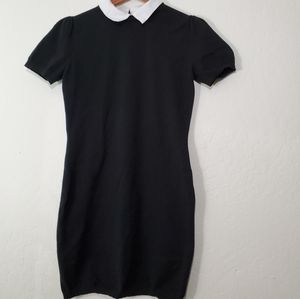 Forever21 Contrast Collar Sweater Dress